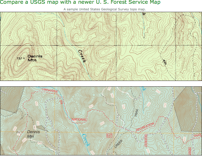 Usfs Maps My Blog - Us forest service topographic maps