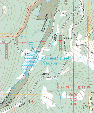 MacGPS Pro Mac OS X Navigation Software MacTopos US Forest - Us forest service topographic maps